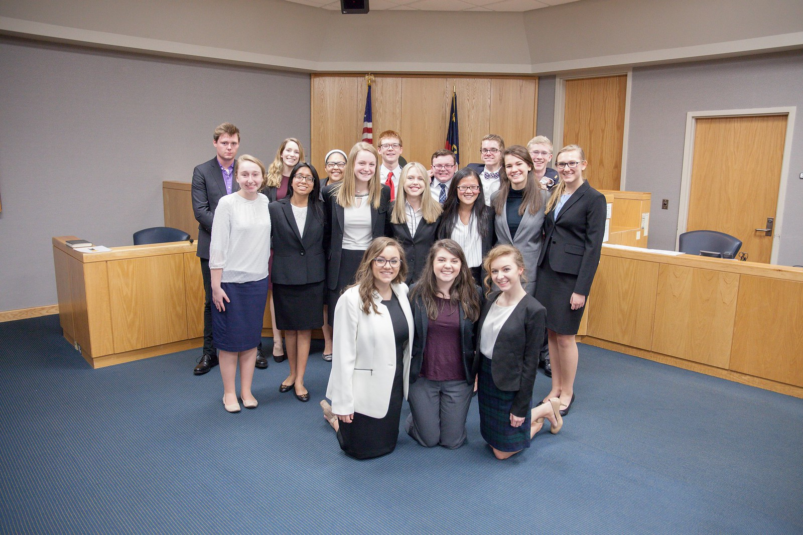 2018 Mock Trial Dress Rehearsal (NC Regionals)