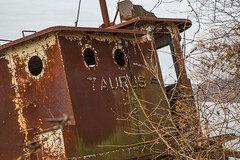 Abandon Tugboat