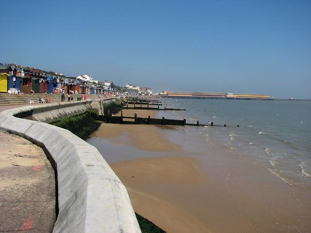 The promenade at Walton-on-the-Naze