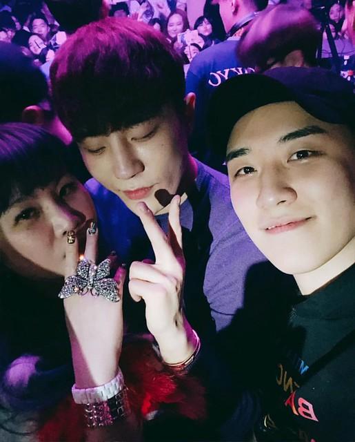 BIGBANG via yoooouBB - 2018-02-24  (details see below)