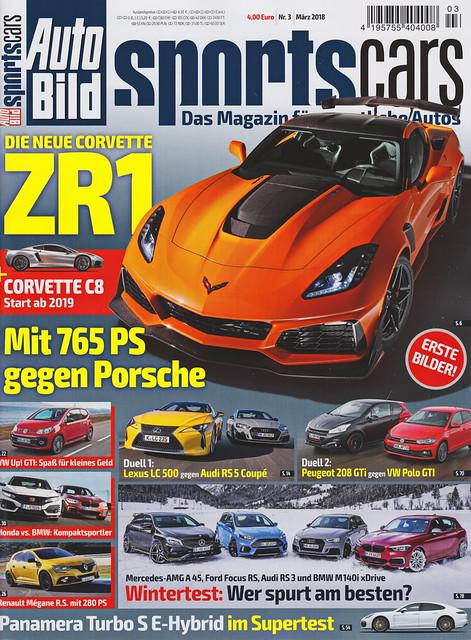 Auto Bild Sportscars 3/2018