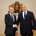 Boyko Borissov welcomes Donald Tusk