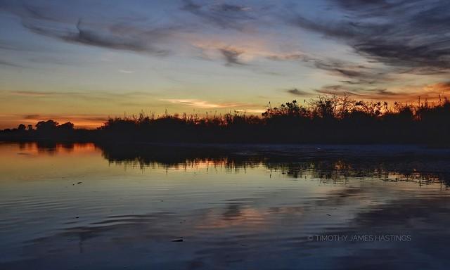 Botswana Dusk @  Okavango Delta
