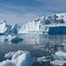 Icebergs at Ilulissat, Greenland.