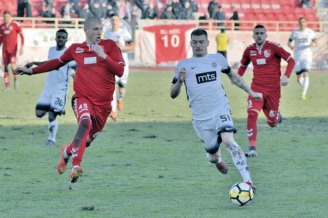 Radnicki-Partizan  1:0