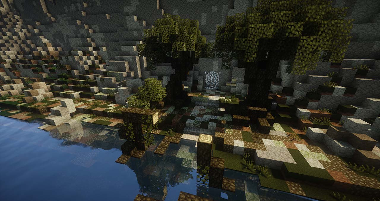 Minecraft Middle Earth By @mcmiddleearth: Secret Entrance To Mines Of Moria