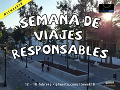 Semana de Viajes Responsables #rtweek18