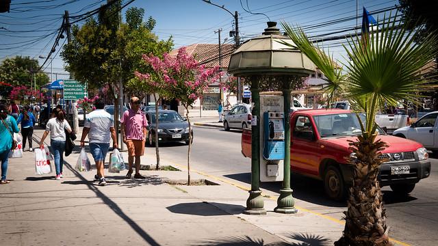 Telefonzelle in San Vicente