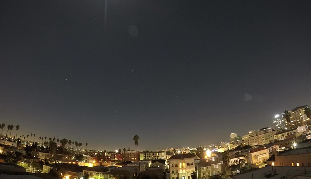 Time-Lapse of the Lunar Eclipse over Los Angeles, CA 1/31/2018