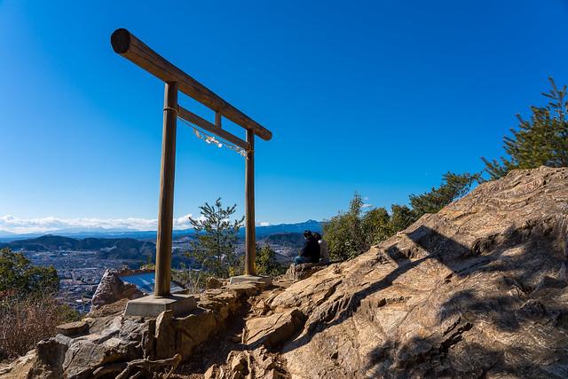 金刀比羅神社の見晴場