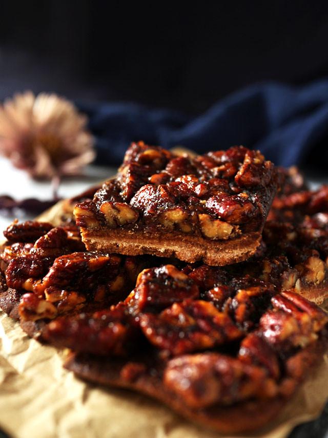 全素焦糖胡桃方塊 vegan-caramel-pecan-bars (3)