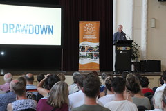 100 solutions to global warming: Paul Hawken on Drawdown at Coburg Town Hall - IMG_3032