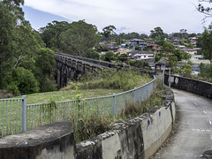 Greystanes Aqueduct, previously know as The Boothtown Aqueduct - built 1883 - SEE BELOW 4/4