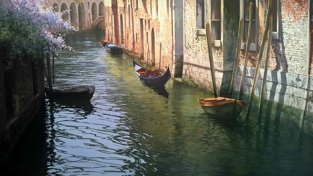 morning light in  Venice, Italy