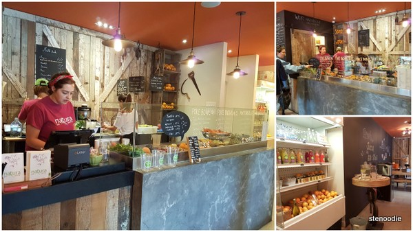 Natura Juicery interior