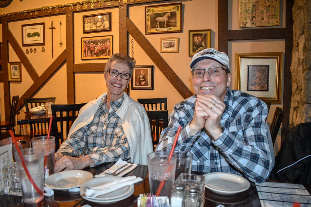 2018-01-25 General Membership Meeting & Dinner @ George & Dragon