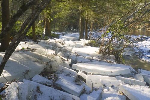 More ice blocks