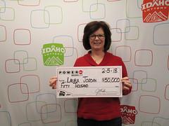 Laura Jordan - $50,000 - Powerball - Fruitland - Shell Fruitland