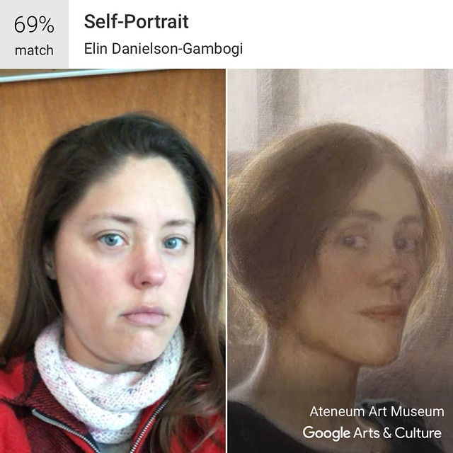 Matching people to art:  Google Arts & Culture