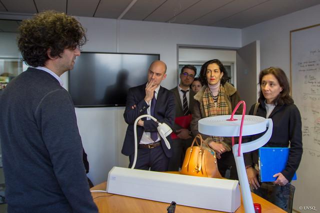 Visite Delphine Geny-Stephann, secrétaire d'État auprès du ministre des finances