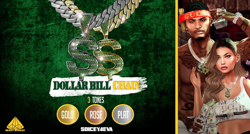 💎SOICEY4EVA💎 💵Dollar Bill Chain💵 Now Available! - TeleportHub.com Live!