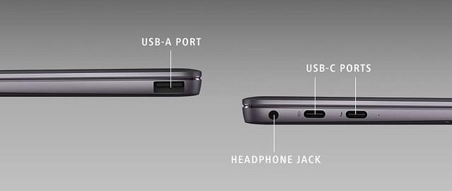 Huawei Matebook X Pro, un 13.9 pouces en 3000 x 2000 pixels à bords ultra fins