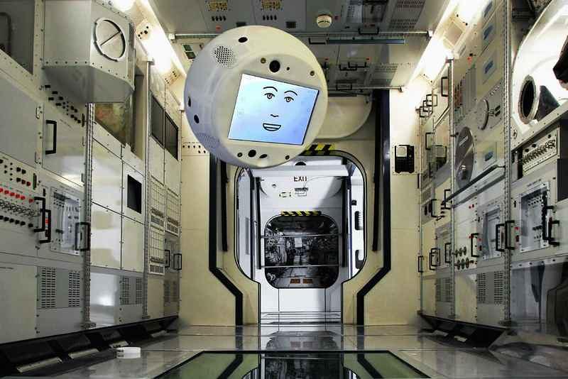 Un «cerveau volant» aidera les astronautes dans la station spatiale