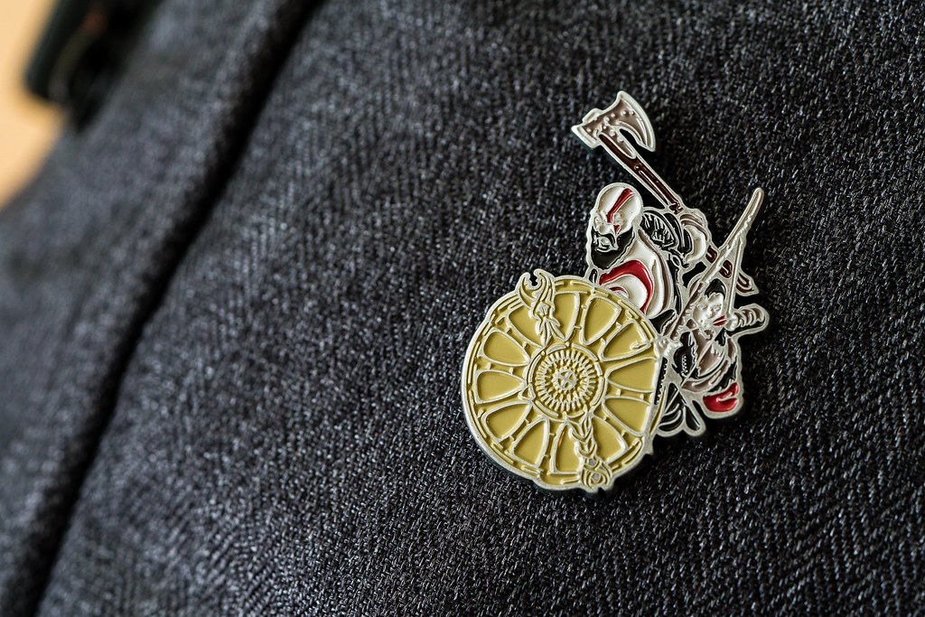 God of War Pin