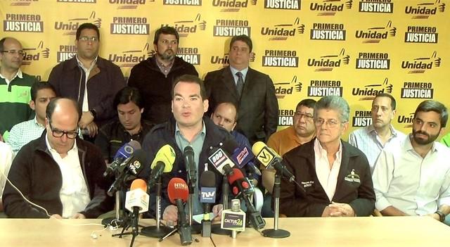 Partidos opositores ao governo Maduro confirmam participação nas próximas eleições - Créditos: Primeiro Justiça