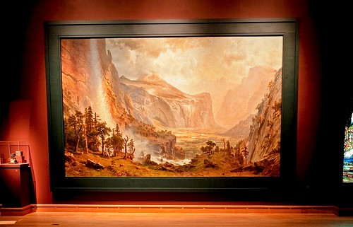 Giant Bierstadt Painting at the Morse Museum