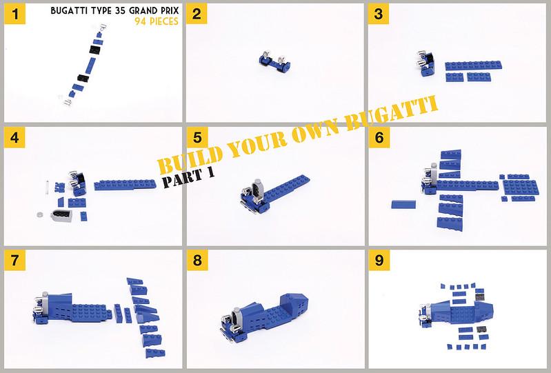 LEGO Bugatti | part 1