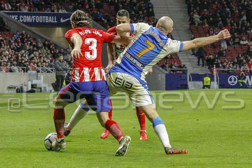 Atlético de Madrid 4-0 C.D. Leganés 28/02/2018
