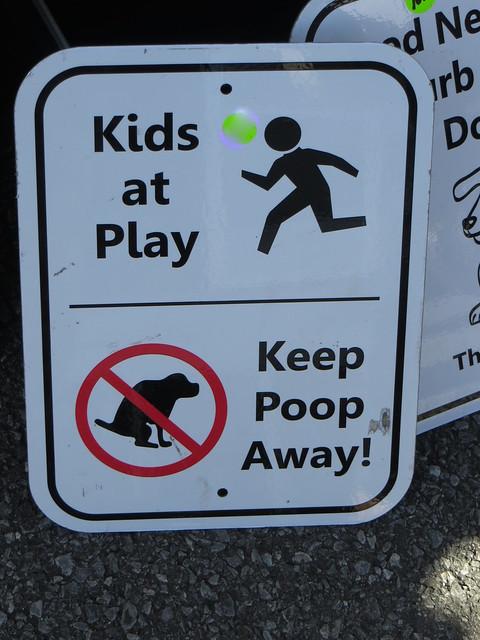 Poo Sign