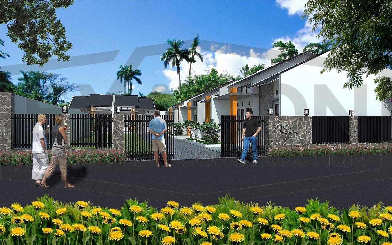 Proyek Cluster Minimalis Modern Bapak Risan - Depok 3, Jasa Desain Arsitektur Rumah