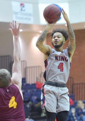 King vs Erskine Basketball