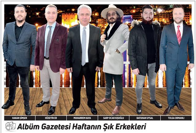 Hakan Şimşek, Hüseyin Er, Muharrem Kaya, Sarp Ocan Kışoğlu, Batuhan Uysal, Tolga Ormanlı