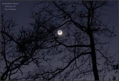 2018Jan19_Earthshine Moon
