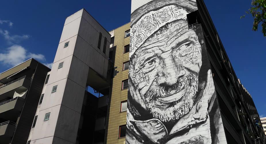 Street art in Heidelberg: Hendrik Beikrich | Mooistestedentrips.nl