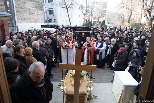 Înmormântarea istoricului Neagu Djuvara