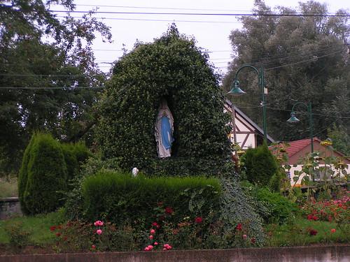 20070830 11546 0706 Jakobus Bellmagny Maria StatueGrotte