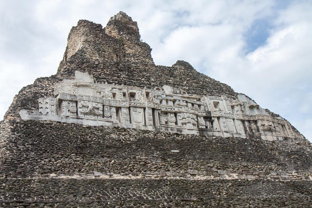 Belize. Xunantunich