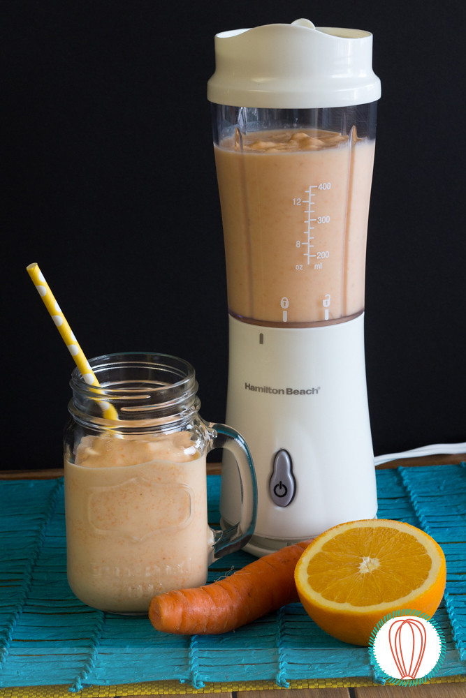 Breakfast Orange Smoothie