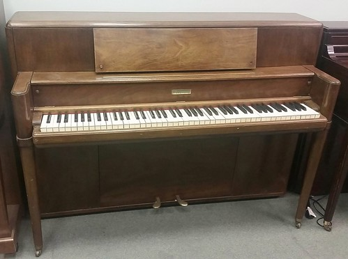 Steinway console piano