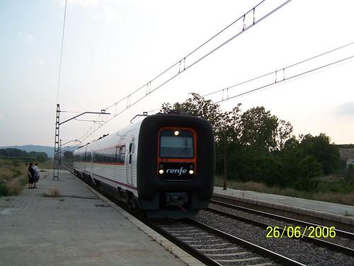 TER RENFE en gare de Calatorao