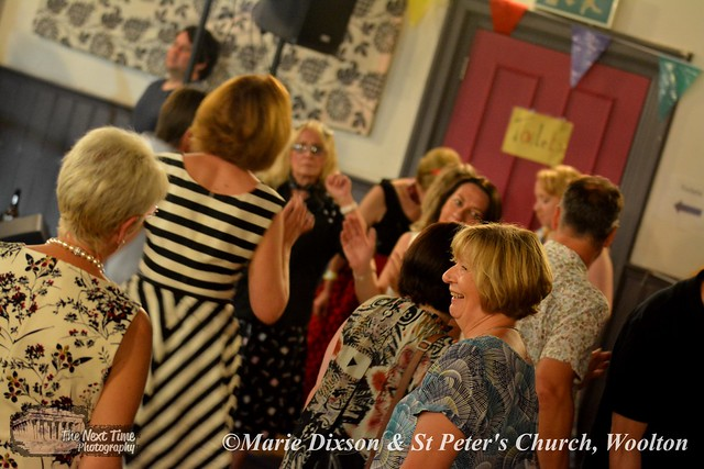 Grand Dance in St Peter's Church Hall, July 6, 2017