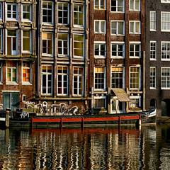Damrak. Amsterdam