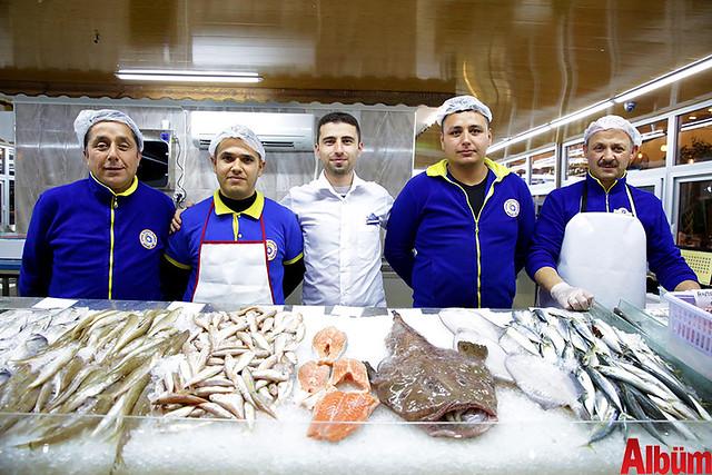 Düden Balık Çarşısı açıldı-7