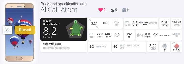 ALLCALL Atom レビュー (11)