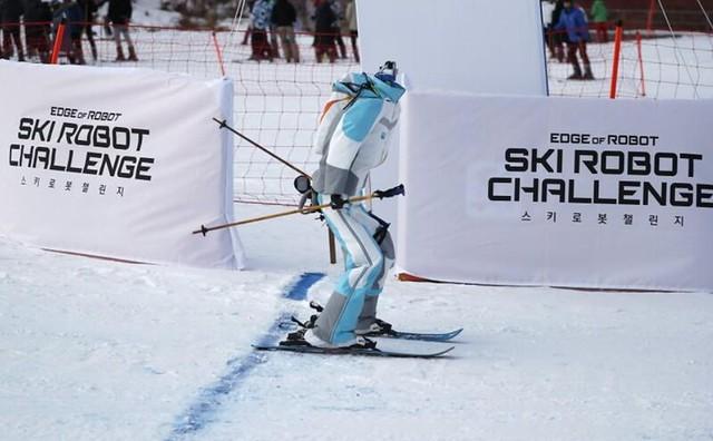 Robots Esquiadores Ski Robot Challenge