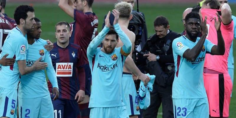 Barcelona Akui Kesulitan Untuk Kalahkan Eibar 2-0